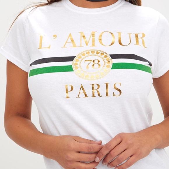 ff94560f PrettyLittleThing Tops | Lamour Paris Shirt | Poshmark